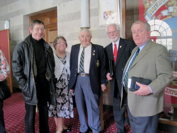 Pictured from left to right : Tony Green, Paula Liptrot, Ian Liptrot, Doug Kemp and Martyn Thomas